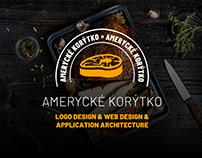 Amerycké korýtko, Logo design & Apps & Web Design