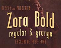Zora Bold - Free Font Deeezy