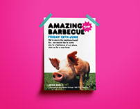 Amazing Barbecue - Poster/Flyer