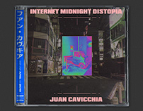 Internet Midnight Distopia – Juan Cavicchia. LP Cover.