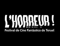 L'Horreur! Proyecto de identidad gráfica