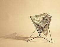 Parabola chair from Carlo Aiello - Scale model 1:5