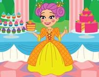"Sticker puzzle book ""Princesses"""