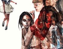 Fashion Illustration collage_Women