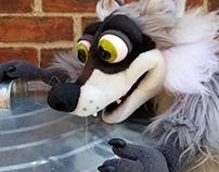 Pan the Raccoon Puppet