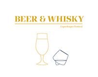 Cph Beer & Whisky Festival - Identity Design