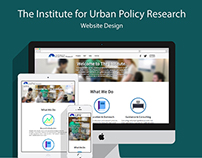 The Institute for Urban Policy Research Website
