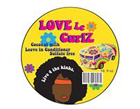 Love le Curlz 70s logo