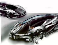 futuristic vehicle concept