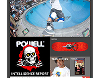 Redesign Powell-Peralta web