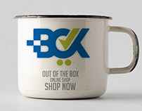 Box Application logo - branding
