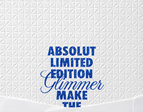 Invitation for Absolut Party