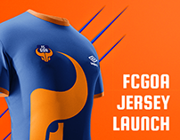FC Goa: Jersey pre-launch one page site