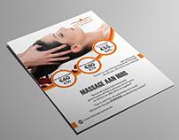 Massage Company Flyer