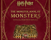 Packaging for Harry Potter Monster Book of Monsters