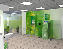 Bank office desing