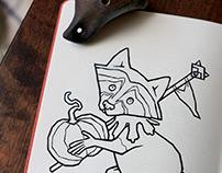 INKTOBER+DRRRAWWWING | 1