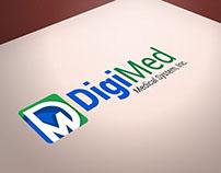 DigiMed: Medical System , Inc. Logo Design