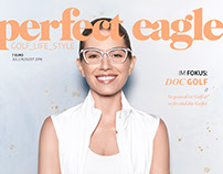 Coverstory for Perfect Eagle Magazine