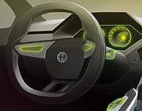 Alfa Romeo Interior sketchs