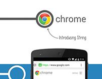 Google Chrome String