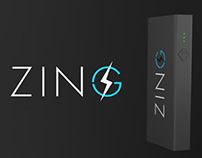 Zing PowerBank Product 3D Commercial Visualization