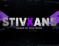 Team Nightmare Branding and Twitch Livestream Graphics
