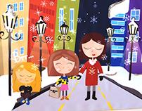 Children's story cover design