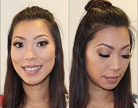 Bridal Makeup for Natalie Q.