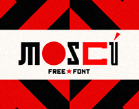 MOSCÚ | Free Font