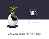 Orb | A tangible interactive device for the elderly