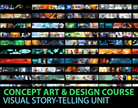 Concept Art Course- Visual Story-Telling Unit