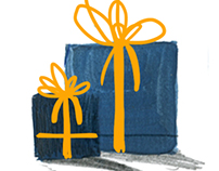 Christmas gifts in 4 steps