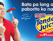 Tender Juicy Hotdog Alden Richards LAYOUTING