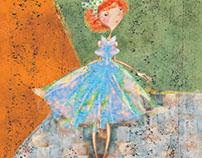 Turuncu Saçlı Kız  Orange -  Haired Girl