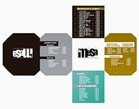 Diseño de cartas de mesa para la Asociación La Mesa