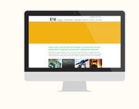 Elettrotek Ukraine website redesign