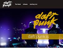 daft punk Discography Fan Site