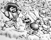 Fan Art: Clash of Clans | Metal Warriors