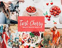 Free Tart Cherry Mobile & Desktop Lightroom Presets