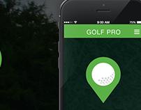 Golf Pro App Design