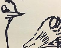 Sticky Notes Doodling