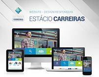 Website Estácio Carreiras