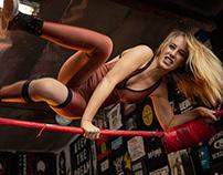 Simone Sherie - Pro Wrestler