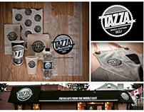 TAZZA Deli Branding