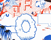 Not Your Friend riso print