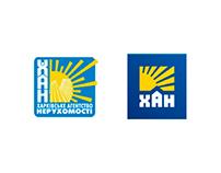 Рестайлинг логотипа ХАН (агентство недвижимости)