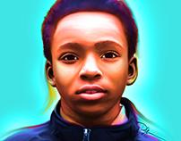 Digital Painting - Zarriel Trotter