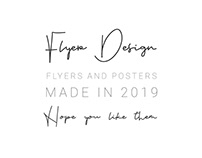 Flyers/Posters of 2019