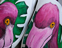 Flamingos shoes